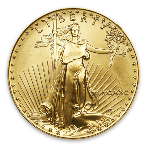 1990 1oz American Gold Eagle