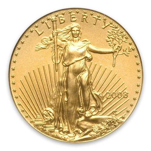 2008 1/10oz American Gold Eagle