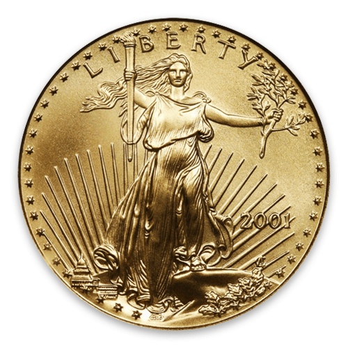 2001 1/4oz American Gold Eagle