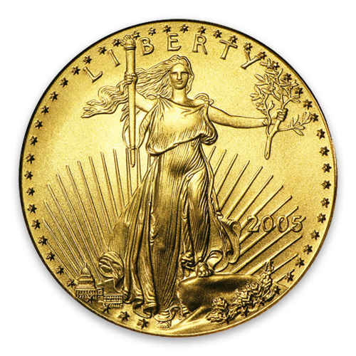 2005 1/4oz American Gold Eagle