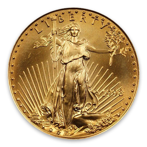 1998 1/2oz American Gold Eagle