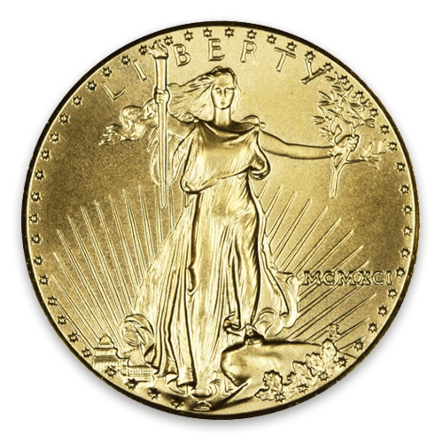 1991 1/4oz American Gold Eagle