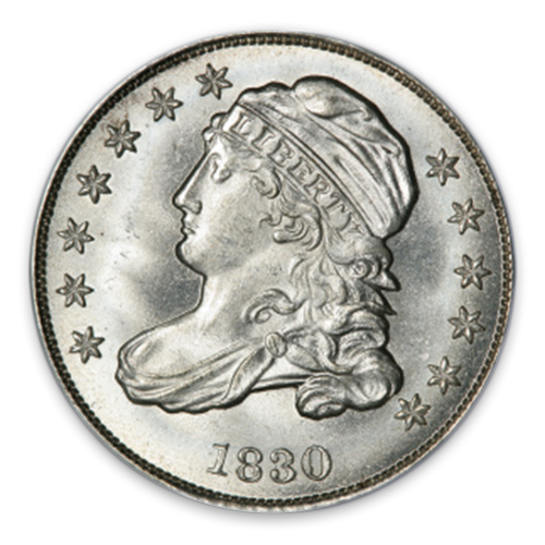 Capped Bust Dime (1809 - 1837) - Circ