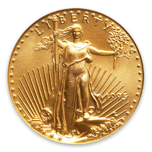 1995 1/4oz American Gold Eagle