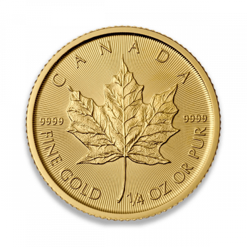 Any Year 1/4oz Canadian Gold Maple Leaf