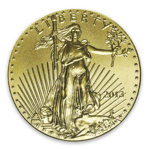 2013 1/4oz American Gold Eagle