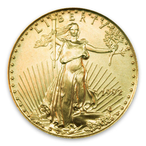1992 1/10oz American Gold Eagle