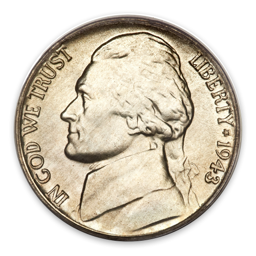 Jefferson Nickel (1938 - Date) - XF