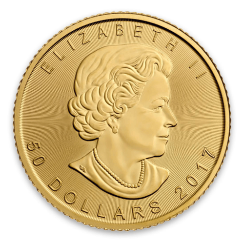 2017 1oz Canadian Gold Maple Leaf