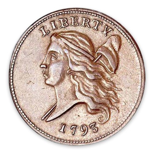 Half Cent Liberty Cap (1793-1797) - Circulated