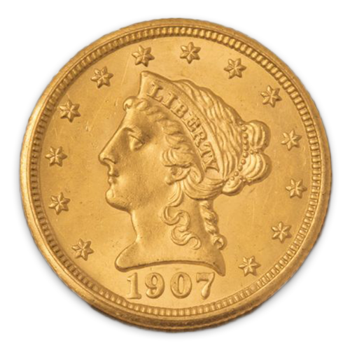 Liberty Head $2.5 (1840 - 1907) - MS+