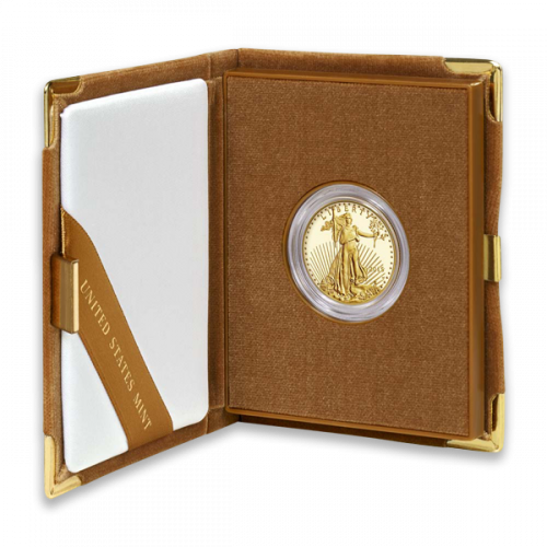 Any Year - 1/2oz Gold Eagle  Proof - with Original Govt Packaging