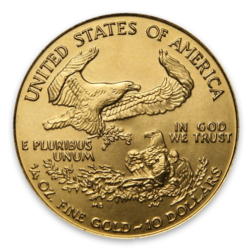 2002 1/4oz American Gold Eagle