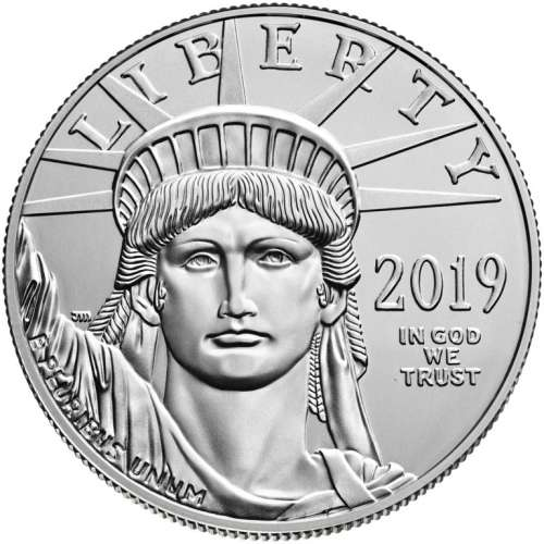 2019 1oz American Platinum Eagle