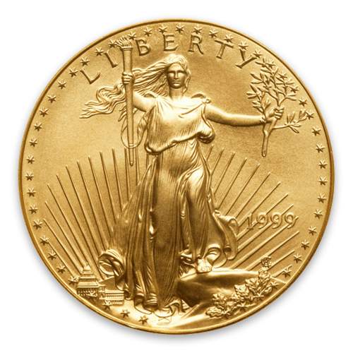 1999 1oz American Gold Eagle