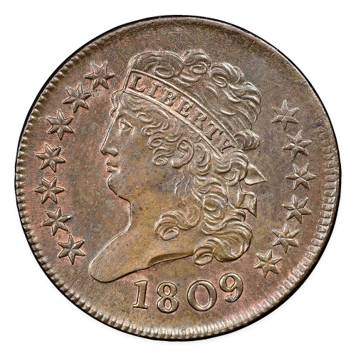 Half Cent Classic Head (1809 - 1836) - Circulated