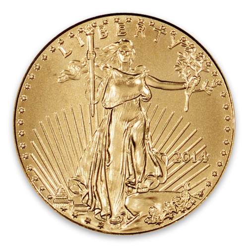 2014 1/10oz American Gold Eagle