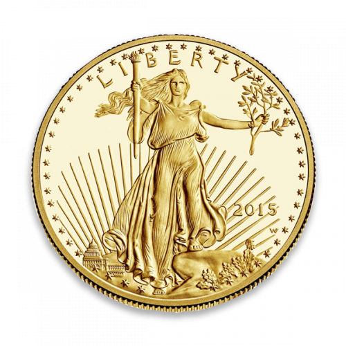 Any Year - 1oz Gold Eagle  Proof - Missing some/all Govt packaging