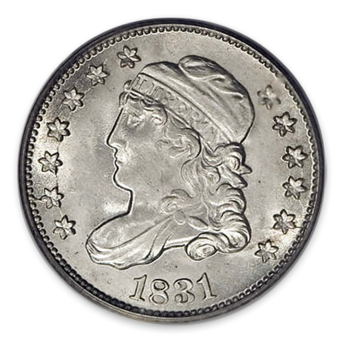 Capped Bust Dime (1809 - 1837) - XF