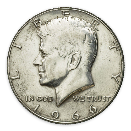 Kennedy Half Dollar (1965 to 1970) - XF