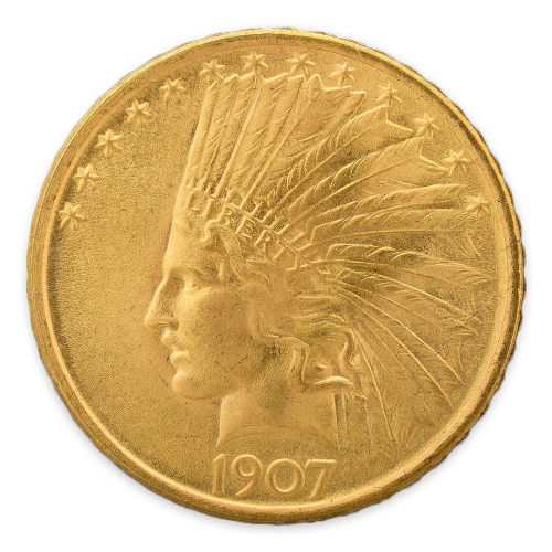Indian $10 (1907 - 1933) - Proof