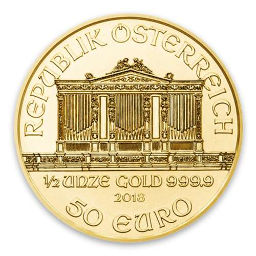 Any Year - 1/2oz Austrian Gold Philharmonic