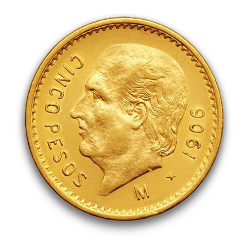 Mexico 5 Peso Gold Coin