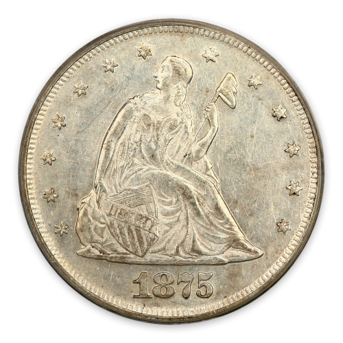 Twenty Cent (1875 - 1878) - XF