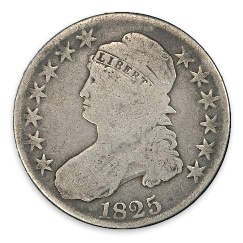 Capped Bust Half Dollar (1807 - 1839) - Circ