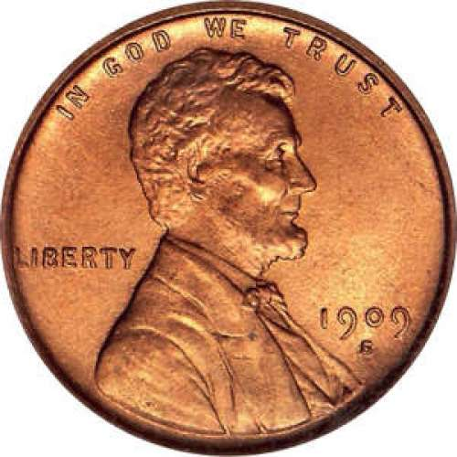 Cent - Lincoln Wheat Ear reverse - Circulated