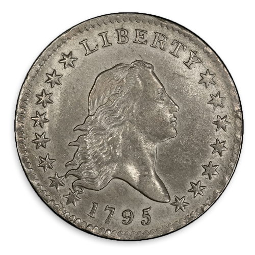 Flowing Hair Half Dollar (1794 - 1795) - Circ