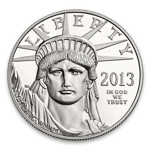 2013 1oz American Platinum Eagle Coin Proof - Missing some/all OGP