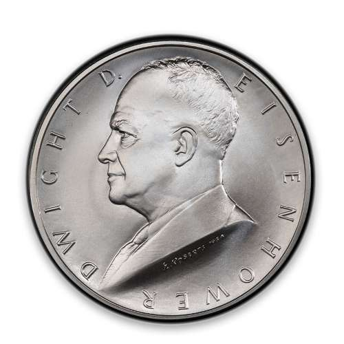 2015 Dwight D. Eisenhower Coin and Chronicles-