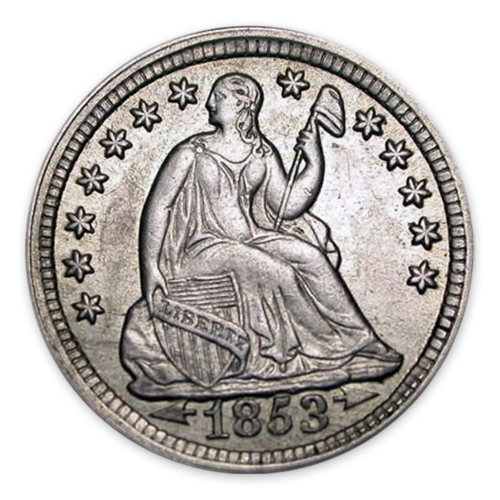 Liberty Seated Half Dime (1837 - 1873) - Circ
