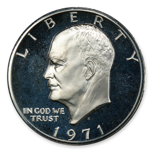 Ike Dollar (1971 - 1978) - Proof Silver