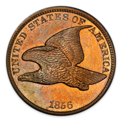 Cent - Flying Eagle (1856 - 1858) - Circulated