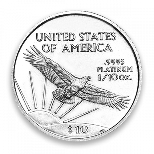 2003 1/10oz American Platinum Eagle