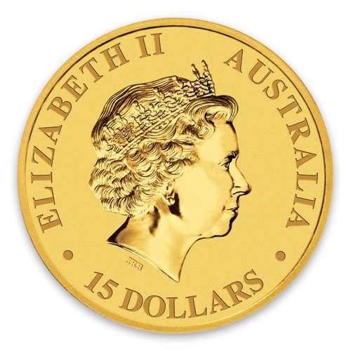 2010 1/10oz Bullion Kangaroo Coin