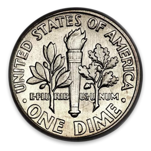 Roosevelt Dime (1946 to 1964) - XF