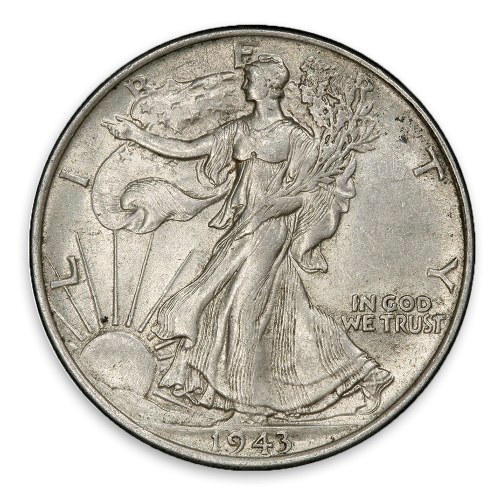 Walking Liberty Half Dollar (1916 - 1947) - Circ