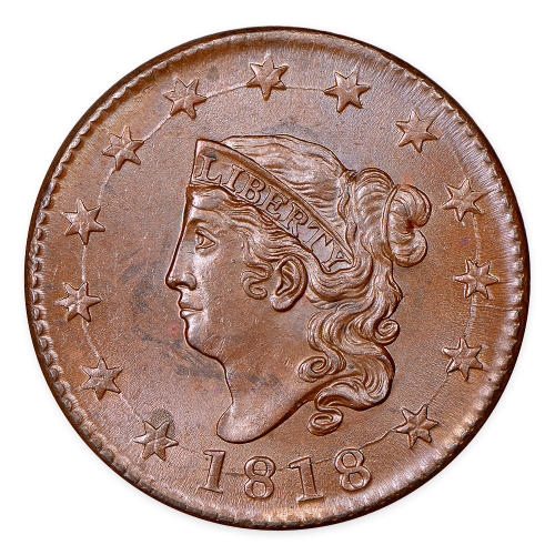 Cent - Coronet Head (1816 - 1839) - Circulated