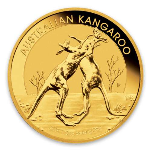 2010 1/2oz Bullion Kangaroo Coin