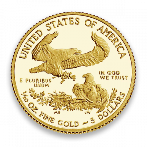 Any Year - 1/10 oz Gold Eagle Proof - with Original Govt Packaging