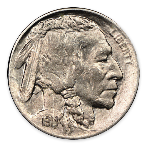 Buffalo Nickel (1913-1938) - MS+