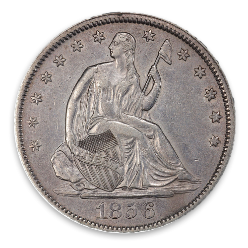 Liberty Seated Half Dollar (1839 - 1891) - XF