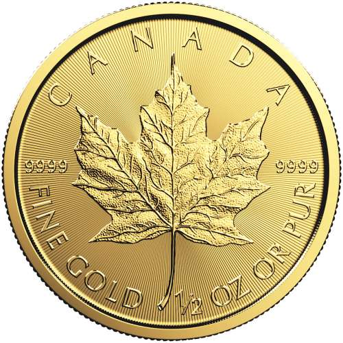 Any Year 1/2oz Canadian Gold Maple Leaf