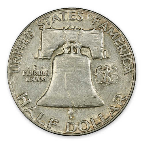 Franklin Half Dollar (1948 - 1963) - XF